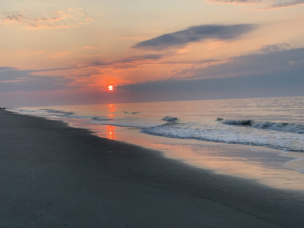 Sunrise from Hilton Head Beach