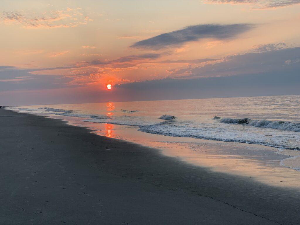 Sunrise from Hilton Head Beach